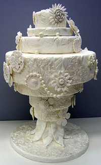 Featured in 2011 Brides Magazine's Americas Most Beautiful Cakes