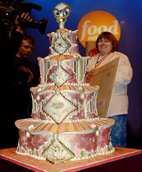First Annual Food Network Wedding Cake Challenge